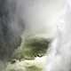 High angle view of water crashing down Victoria Falls, Zambia. - PhotoDune Item for Sale