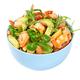 Salad with avocado, shrimp, fresh cherry tomatoes and arugula - PhotoDune Item for Sale