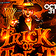 Halloween Trick or Treat Party Flyer