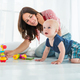 Charming cute cheerful boy with a happy caring mom - PhotoDune Item for Sale