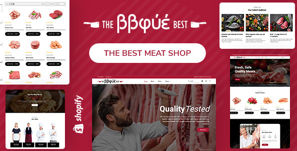BBque - Food, Butcher & Meat Shop Shopify Theme