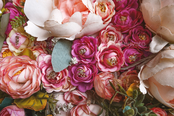 Artificial Flowers - Stock Photo - Images