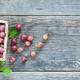 Harvest of ripe red gooseberries - PhotoDune Item for Sale