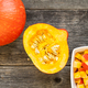 Preparation of pumpkin soup - PhotoDune Item for Sale