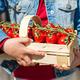Ripe juicy tomatoes in the wicker basket - PhotoDune Item for Sale