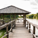 Wooden shelter on a quiet lake - PhotoDune Item for Sale