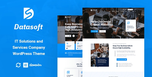 Datasoft - IT Solutions & Services WordPress Theme