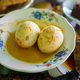 portrait poached egg food on a plate - PhotoDune Item for Sale