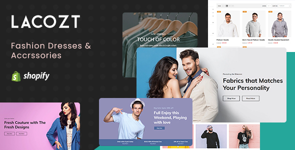 Lacozt – Clothing and Fashion Store Shopify Theme