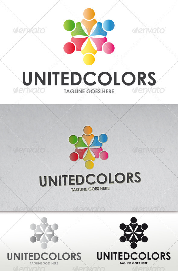 United Colors Logo - Humans Logo Templates