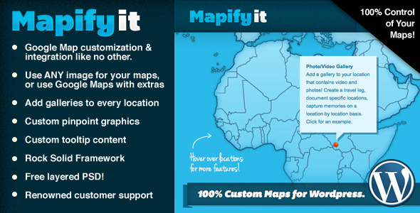 Mapify.it: Customized Google Maps for Wordpress - CodeCanyon Item for Sale