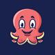 Octopus - Logo Mascot