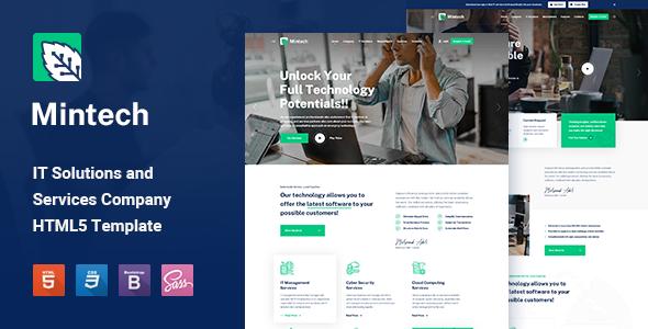 Wondrous Mintech - IT Solutions & Services HTML5 Template