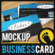 Clean Business Card Mockup - GraphicRiver Item for Sale