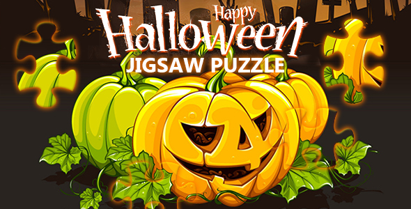 Happy Halloween Jigsaw Puzzle Game (CAPX and HTML5)