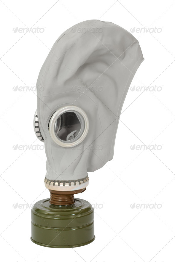 Gas mask - Stock Photo - Images