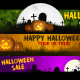 Happy Halloween Banner 4K - VideoHive Item for Sale