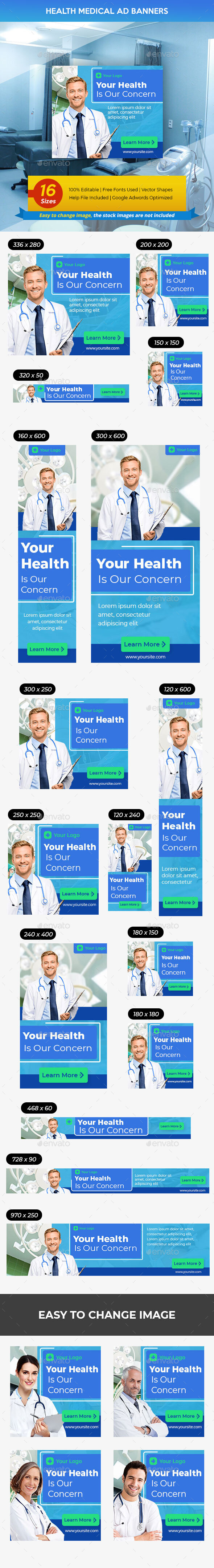 Health Care Medical Ads Banner