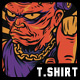 Mad Frank T-Shirt Design