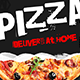 Pizza Delivery Instagram Banners