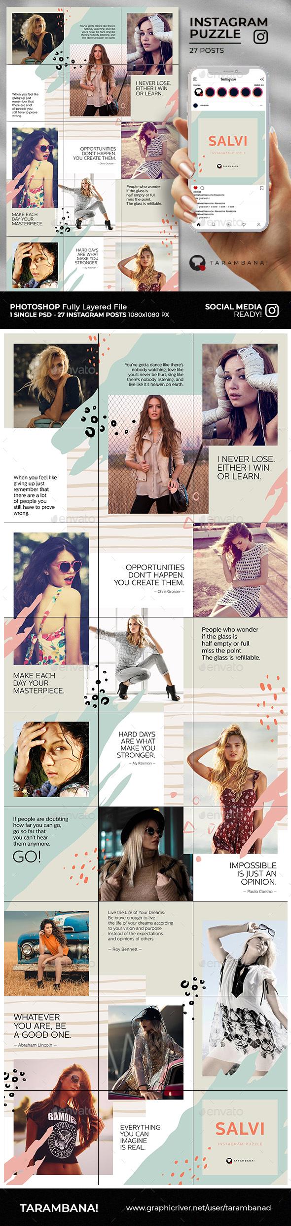 Salvi - Instagram Puzzle Feed