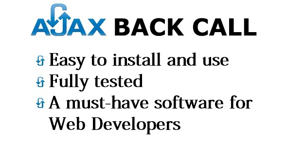 AJAX Back Call            cracked nulled