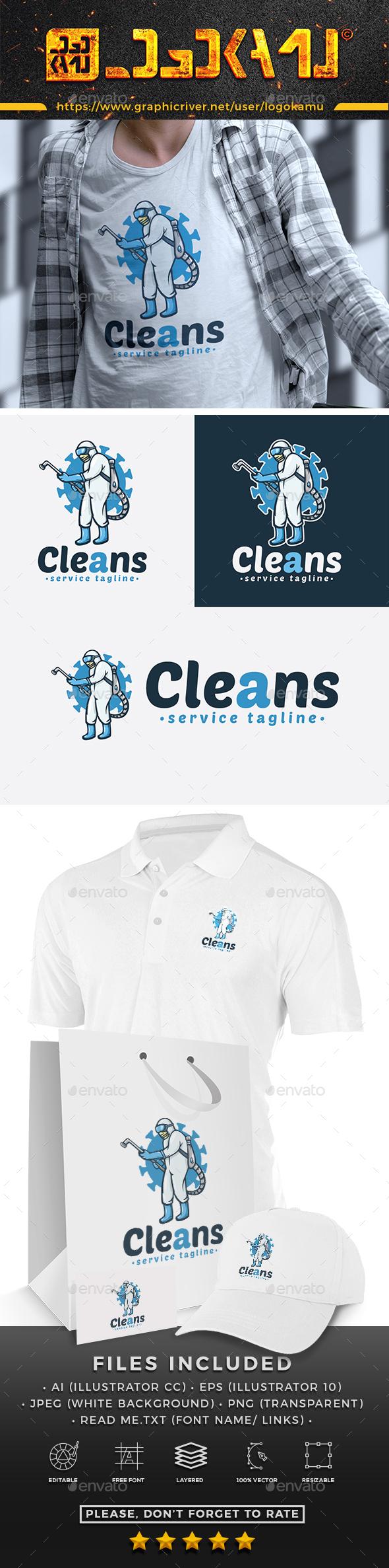 Virus Cleaner Logo