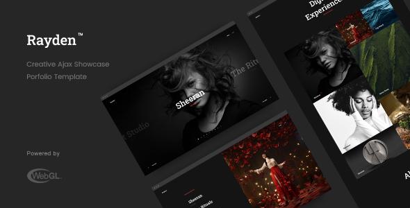 Rayden - Creative Ajax Portfolio Showcase Slider Template