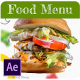 Food Menu Promo - VideoHive Item for Sale