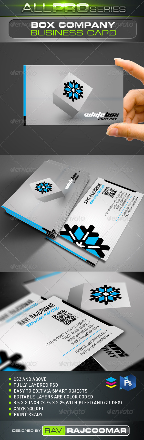 Box Company Business Card - Creative Business Cards
