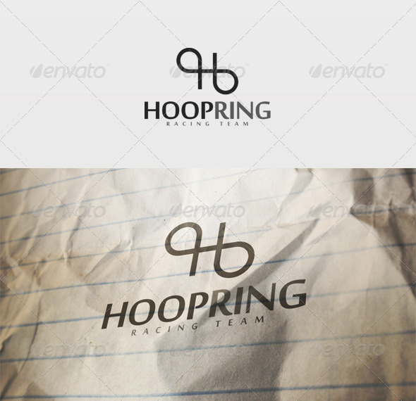 Hoop Ring Logo - Letters Logo Templates