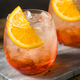 Refreshing Red Aperol Spritz Cocktail - PhotoDune Item for Sale