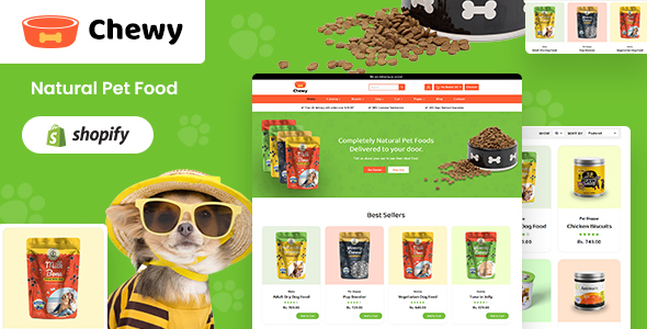 Chewy - Pet Shop Shopify Theme