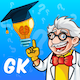 Educational GK Quiz + Ready For Publish + Multi Language Supported