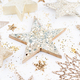 New Year celebration and Christmas background, Christmas decorations top view. - PhotoDune Item for Sale