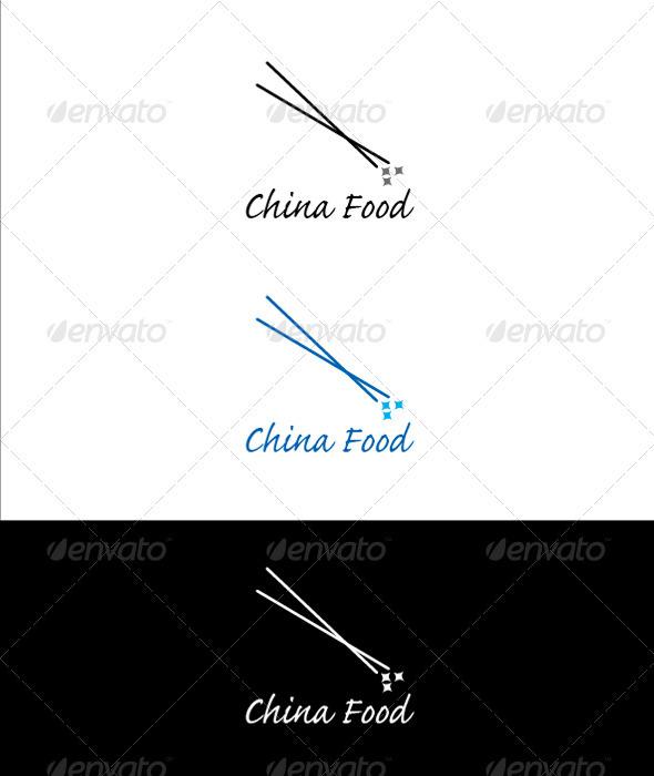 China Food Logo - Objects Logo Templates