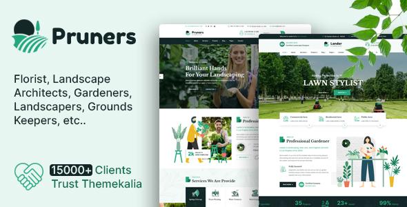 Pruners - Garden Landscaper HTML Template