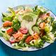 Healthy salad with smoked samlmon and avocado - PhotoDune Item for Sale