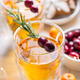 Christmas apple cider cocktail with cranberries and rosemary - PhotoDune Item for Sale