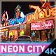 Neon City Titles Intro | AD - VideoHive Item for Sale