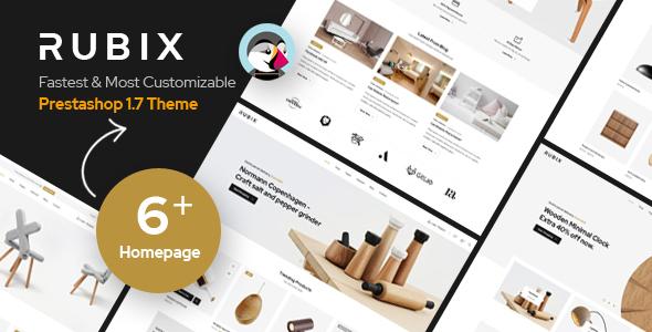 Rubix – Responsive Prestashop 1.7 Theme