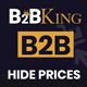 WooCommerce Hide Prices - Private Store Plugin by B2BKing