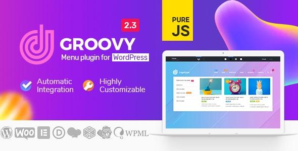 Groovy Mega Menu - Responsive Mega Menu Plugin for WordPress Nulled