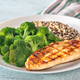 Grilled chicken with broccoli and quinoa - PhotoDune Item for Sale