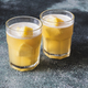 Two glasses of pineapple juice - PhotoDune Item for Sale