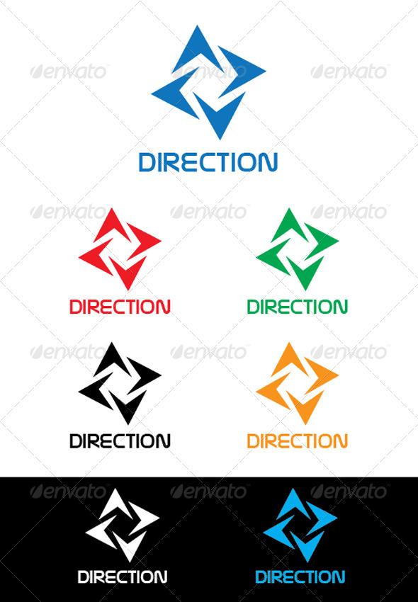 Direction Logo - Logo Templates