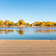 autumn scenery of populus euphratica forest - PhotoDune Item for Sale