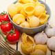 Italian snail lumaconi pasta with tomatoes - PhotoDune Item for Sale