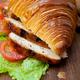 savory croissant brioche bread with chicken breast - PhotoDune Item for Sale