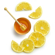 lemon slices and honey - PhotoDune Item for Sale
